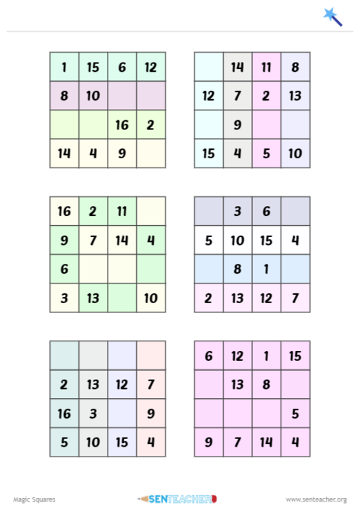 Place holder for Magic Square Maker