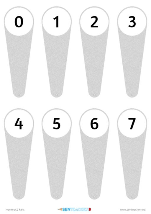Place holder for Number Fans